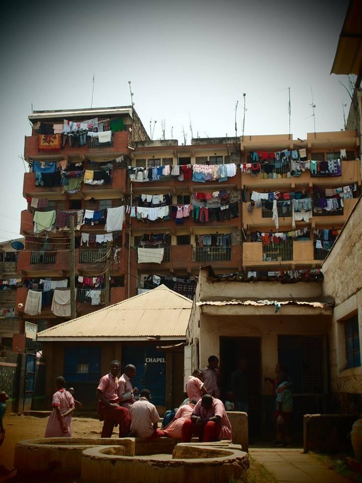 Schulhof in Nairobi 2016