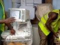 Containerankunft in Burkina Faso 1
