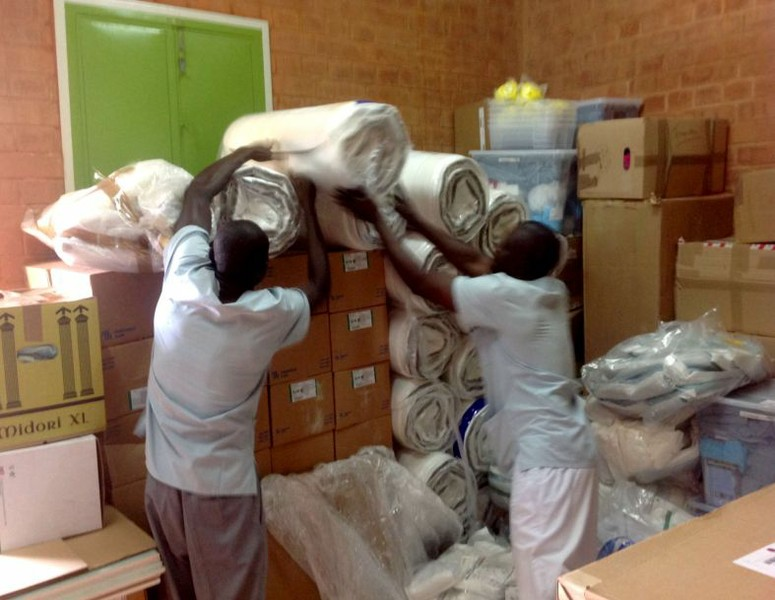 Containerankunft in Burkina Faso 2