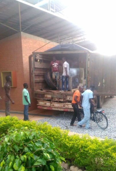 Containerankunft in Burkina Faso 3